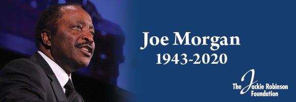 Remembering JRF Board Member Joe Morgan jackierobinson.org/blog/tribute-f…