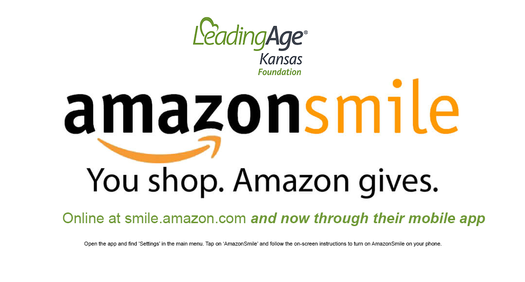 Today is PRIME Day on Amazon! As you make purchases today, don't forget to start at https://t.co/cu2cARppqG and designated LeadingAge Kansas Foundation as your favorite charity. Also, join us tonight for our virtual 20 Scholarship Awards Ceremony at 4 PM https://t.co/Mkt4ycOLQD https://t.co/vdnx3T2uP9