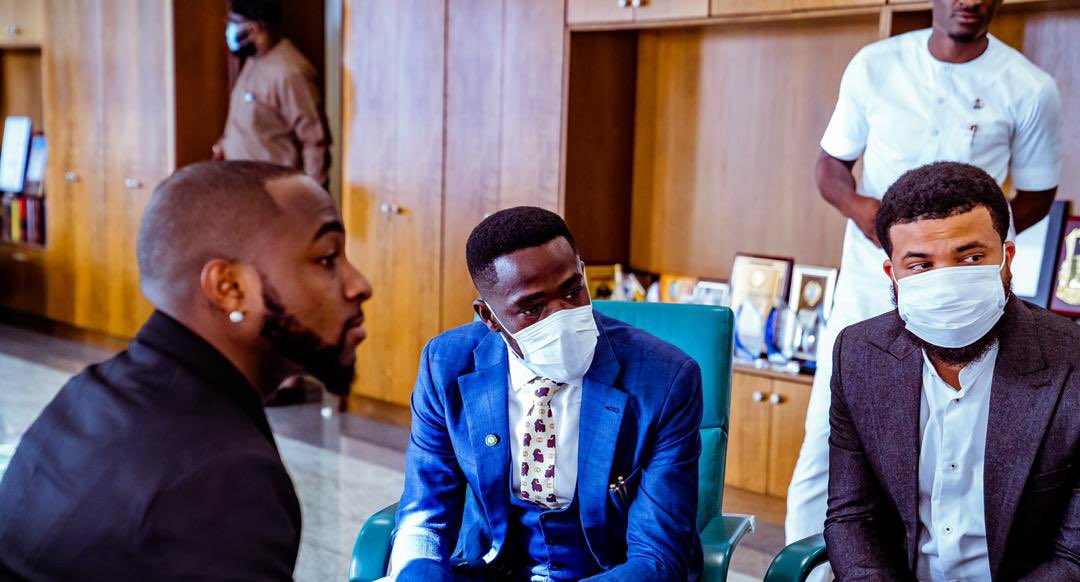 End SARS: Details of Davido's meeting with Reps Speaker, Gbajabiamila