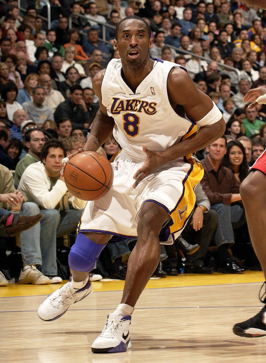 What player got you into basketball, I'll start.