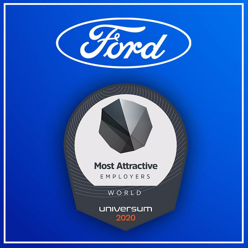Thank you to all the students who named Ford as one of @UniversumGlobal's Top 50 World's Most Attractive Employers 2020! Learn more about our opportunities for students at: https://t.co/AaeZqh0RJ9 https://t.co/a7pH8VFycj