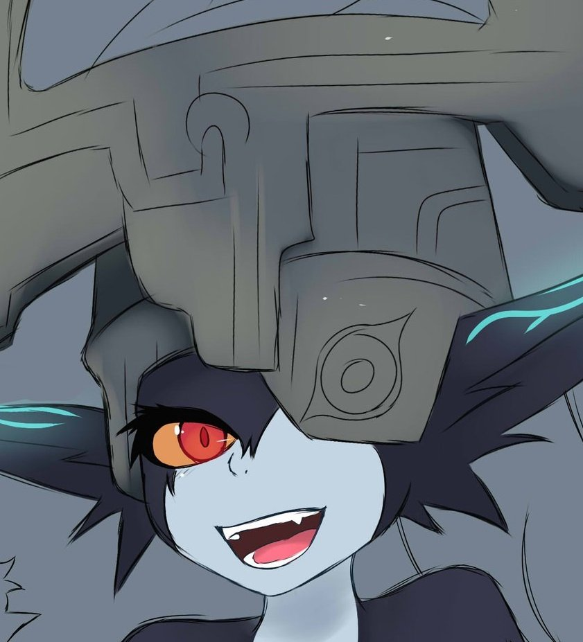 Soon done drawing everyone's favorite imp. #twilightprincess #zelda #midna #wip #fanart https://t.co/1TOfEPDobF