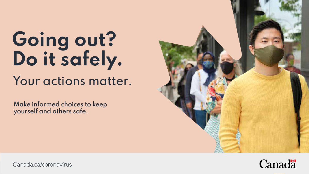 We all need to do our part to keep new case numbers low within our communities. Check out our helpful tool to learn which personal and social activities come with a higher risk and get tips on how to #GoOutSafe and reduce your risk of #COVID19. ow.ly/vyiH50Bv1Si