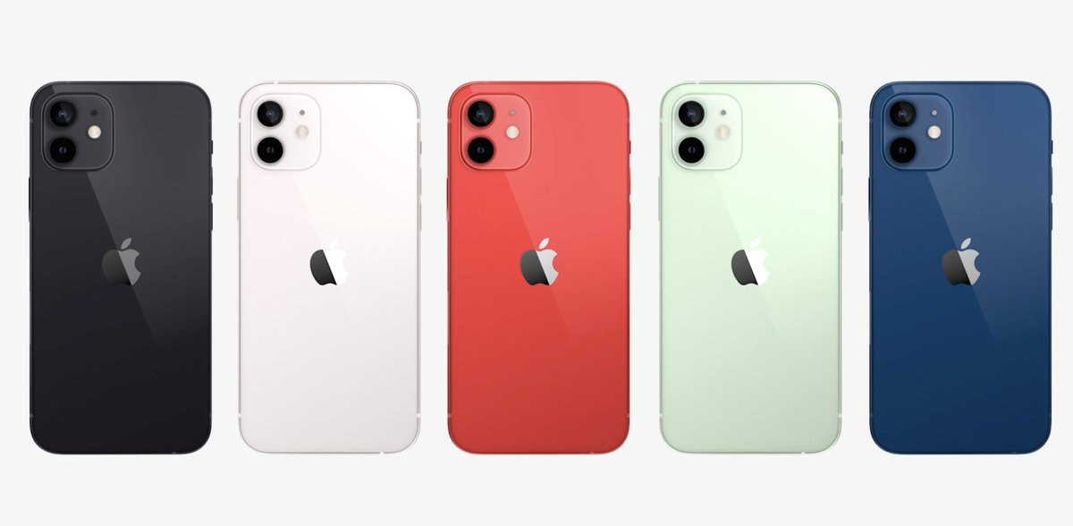 Ooooh, new colors for the iPhone 12. Which is your favorite? #AppleEvent