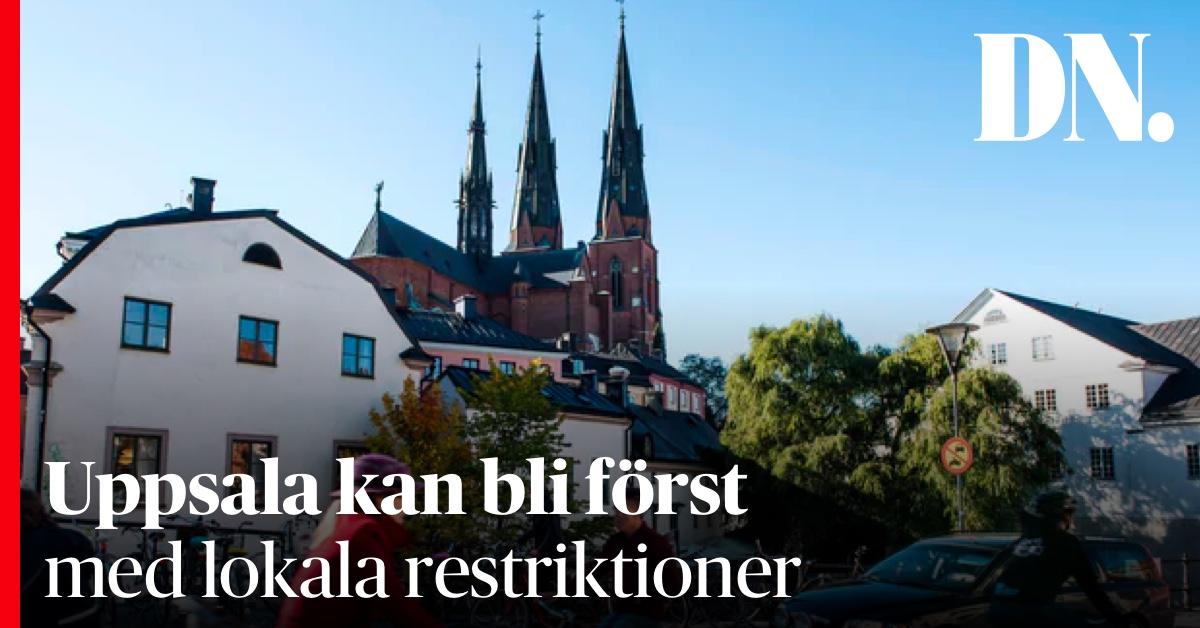 Dagens Nyheter On Twitter Uppsala Kan Bli Forst Med Lokala Restriktioner Vid Storre Covidutbrott Forsoker Fa Till Mote Med Tegnell I Morgon Https T Co K5sa84fnw2 Https T Co Zb0ellrwto