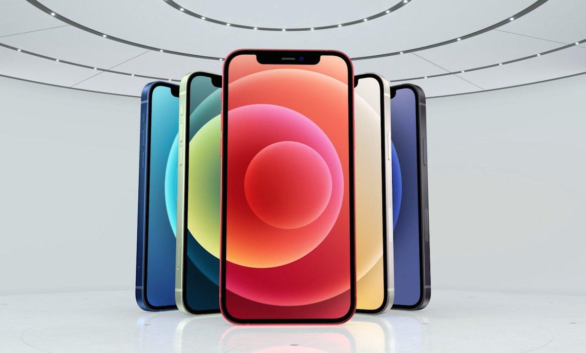 アップルが「iPhone 12」発表 – ブルー・グリーン・レッドなど全5色展開、5G対応 fashion-press.net/news/65704