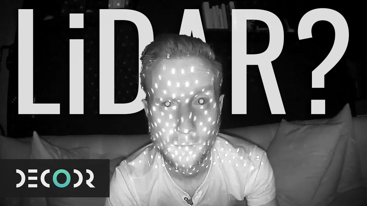 Also, seems like this might make sense to resurface as well considering... Here's my Decodr episode on how LIDAR works and why @Apple's putting it in their devices 😬  https://t.co/PVxHzcdjhU https://t.co/ZWCXqohCmG