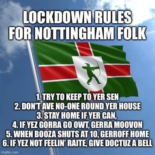 #Nottingham #Covid19UK #lockdown https://t.co/MdfoeU8Wdi