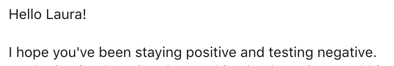 2020 email intros are getting creative.