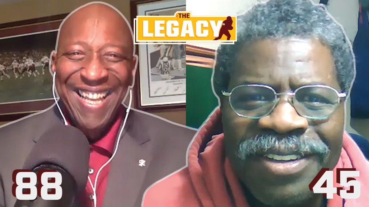 """""""It was money time dude!""""   """"Then the next year you hold out and left us hanging!"""" 😂  @RickDocWalker is not letting Jeris White off the hook in this episode of The Legacy!  📺: https://t.co/KuxzgblCJO https://t.co/dGbuch8OSc"""