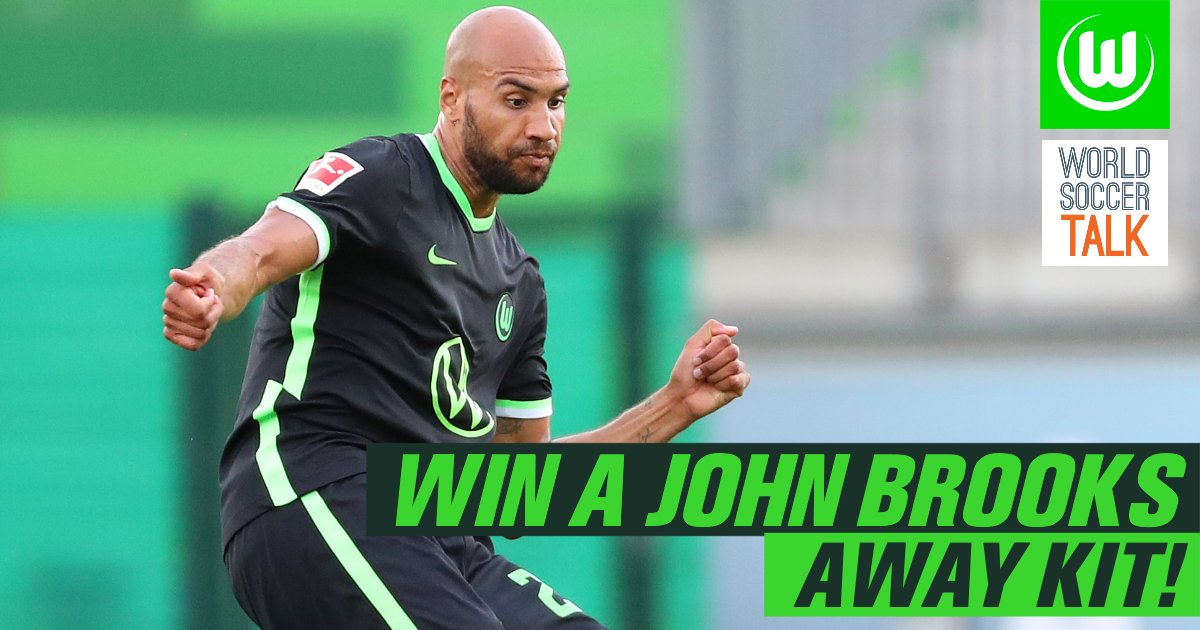 🚨 JERSEY GIVEAWAY 🚨  We teamed up with @VfLWolfsburg_US to give away their away kit (with 🇺🇸 John Brooks on the back of course!)   How to enter 👇  1️⃣ Follow @VfLWolfsburg_US and @worldsoccertalk 2️⃣ Like and Retweet this tweet 🔁 3️⃣ Good luck! 😉 https://t.co/MVmIfJV5cM