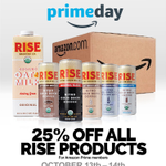 Image for the Tweet beginning: Rise and Prime! 25% off
