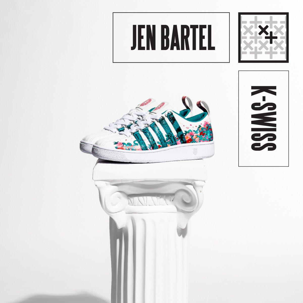 Jen Bartel x K-Swiss dropping tomorrow