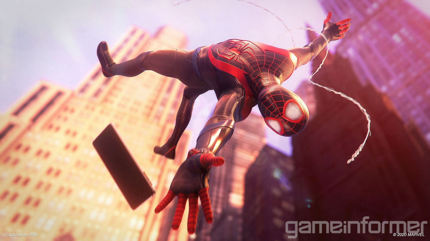 Miles Morales Stars In One Of The Ps5'S Biggest Launch Titles. (Gameinformer)