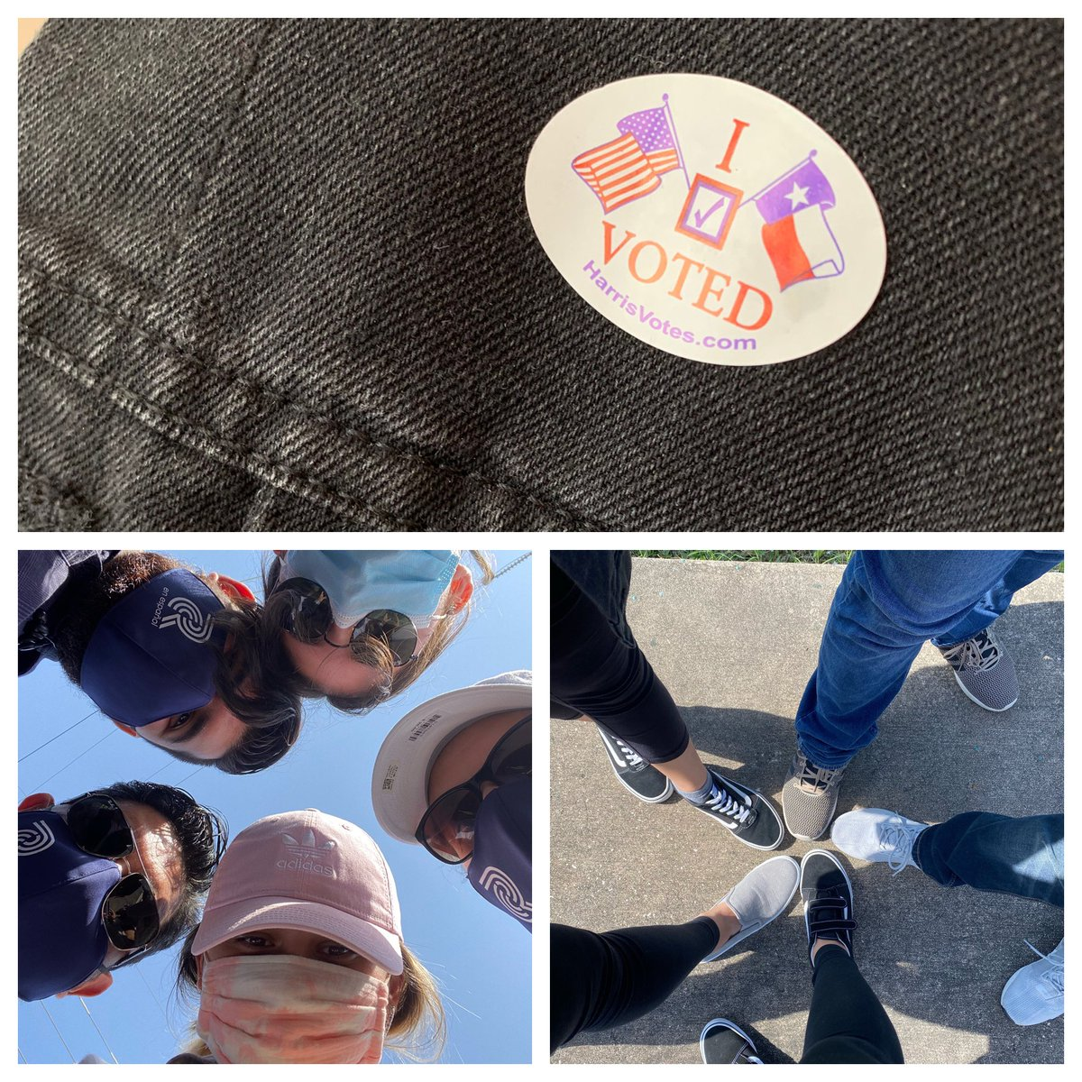 #EarlyVoting with our adult🧔🏻👩🏻👩🏻Today was our little' first time 🗳! @Carlos_Rodriguz  how is it possible that we're parents of three adults? @jessicadani3lle We love you three endlessly ❤️ #EarlyVoting #Voting  #CivicDuty #Wevoted #VOTE #earlyvotingtexas 🙏🏻🇺🇸❤️🗳 https://t.co/nicEVtV12k