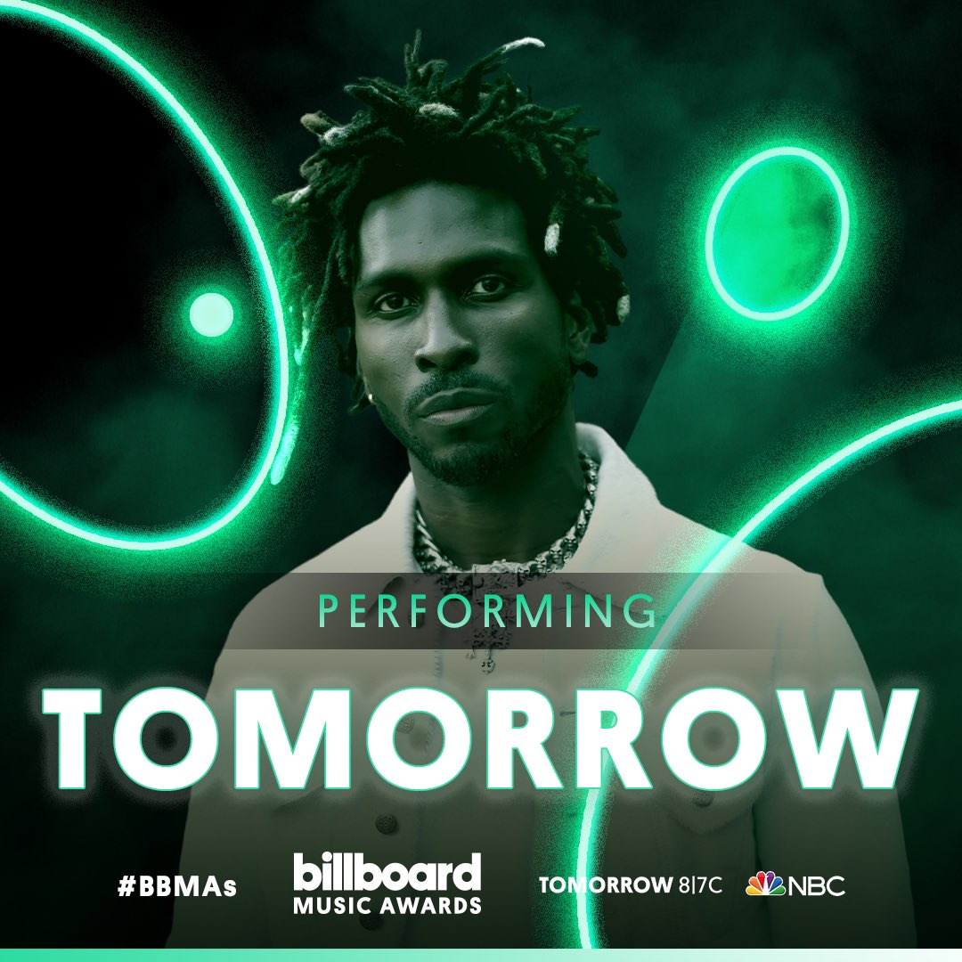 The @BBMAs are TOMORROW! It's going to be Ignorant experience tune-in TOMORROW at 8/7c on NBC. #BBMAs 🤘🏾💀