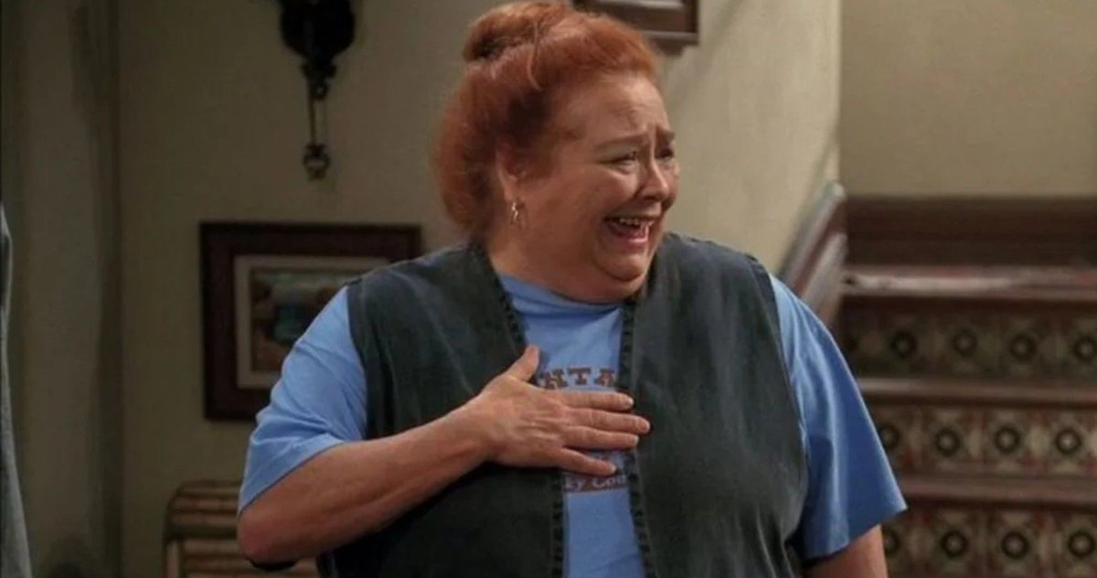 R.I.P. Conchata Ferrell.   The 77-year-old, who was best known for playing Berta in Two And A Half Men, or Helen in Edward Scissorhands, has passed away after complications from a heart attack. https://t.co/TcjAkQwX6B