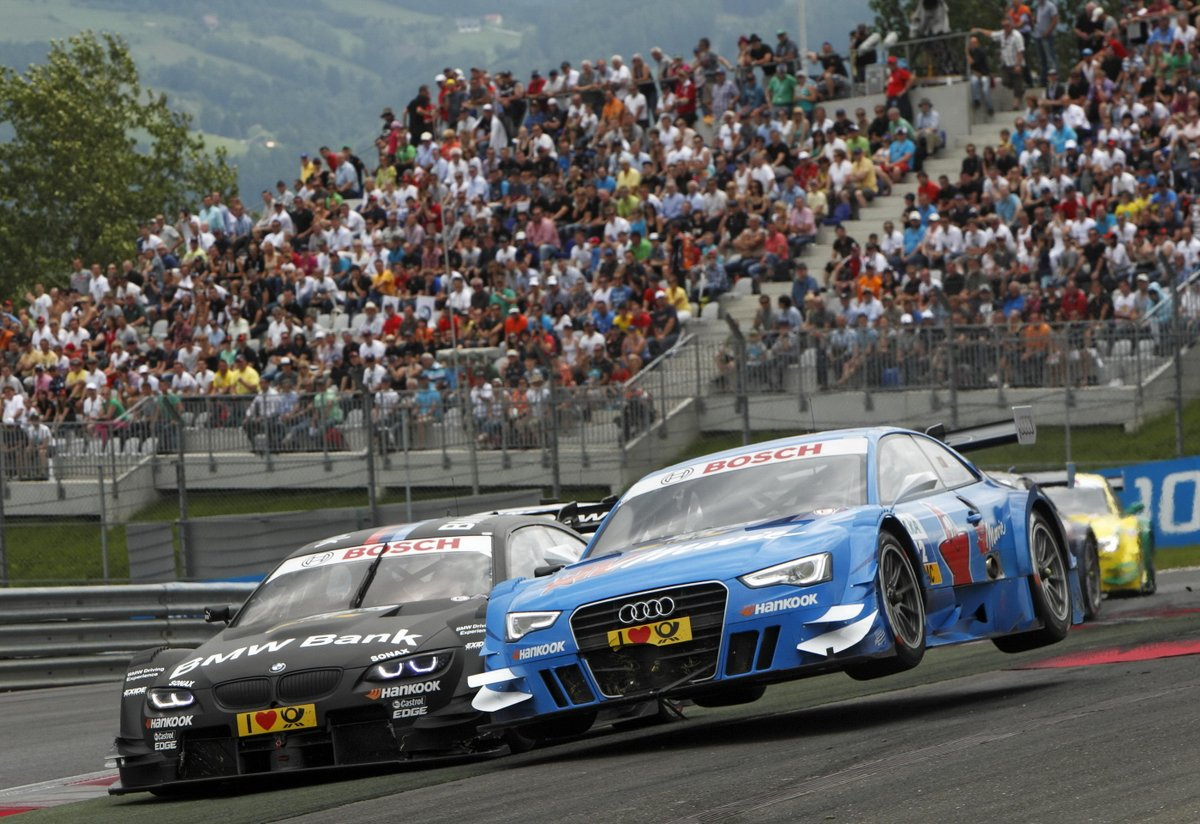 Filipe Albuquerque, 2020 #ELMS champion 🏆, #WEC champion 🏆and 24h of Le Mans winner 🏆, on his #AudiA5 DTM flying low during the Red Bull Ring round of the 2012 #DTM.  #Spielberg #RedBullRing #24hLeMans #LeMans24 @AlbuquerqueFil @FIAWEC @EuropeanLMS @24heuresdumans https://t.co/JoIj92fonh