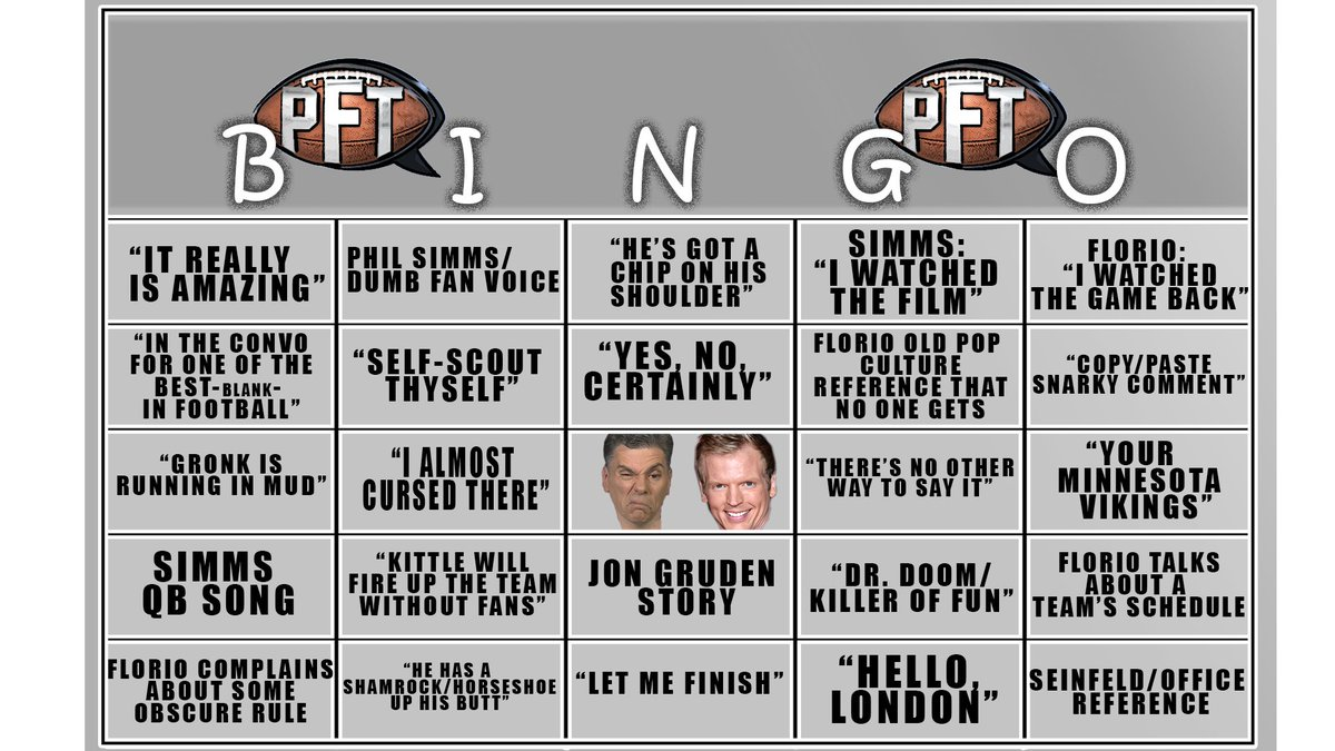 No bingo game using this card will last very long.