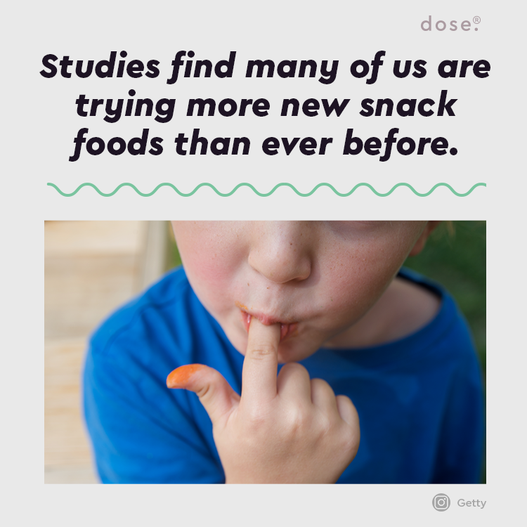 Tried any new snack foods in the past few months?  Learn more: https://t.co/K4swYQHpGP https://t.co/9vim37Sldk