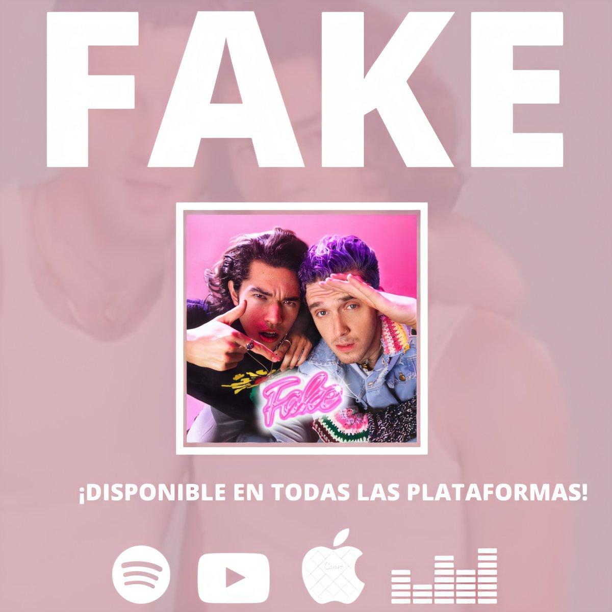 La primera colaboración de Conan, Fake, ya está disponible en todas las plataformas digitales.  FAKE — @lauvsongs ft @conangray.  enlace a todas las plataformas🔗:   Las dos versiones en Spotify. 🔗:  🔗: