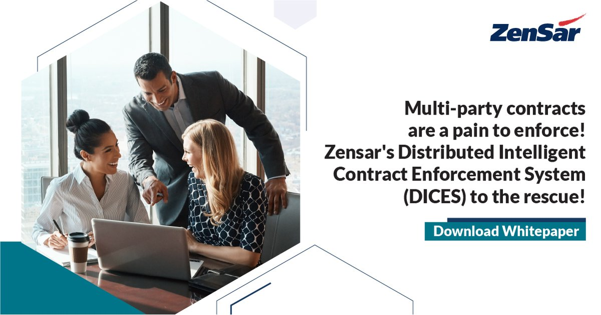 Prevent fraudulent activities while executing a contract. Zensar's DICES solution offers a single source of truth for all parties. Read #whitepaper: https://t.co/hFMYmPsjTh  Tanuj Kumar #TechTransformationatZensar https://t.co/pLwqEbpz0U