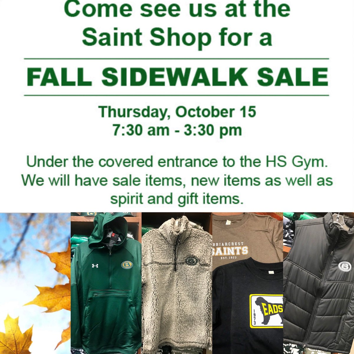 🔺#sidewalksale 🔻 See you this Thursday! https://t.co/EHWz6mW6XE