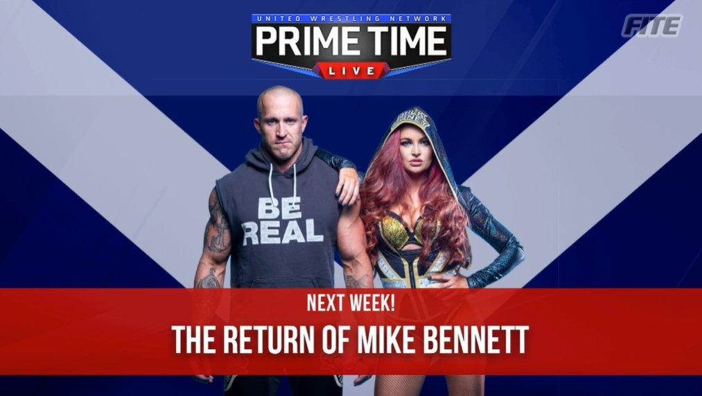 Mike Bennett Set To Return & More Announced For Next Week's UWN Primetime Live