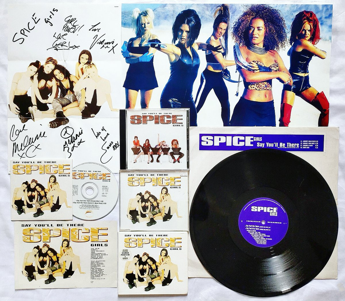 24 Years Ago @spicegirls single 'Say You'll Be There' was released on 14th October 1996. 🇬🇧✌️  #spicegirls https://t.co/txQhHzfQk1