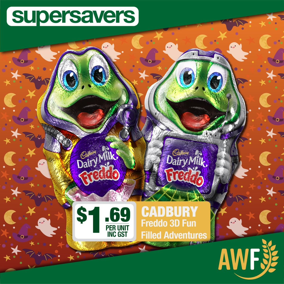 Have you tried #Cadburys NEW 3D Freddo Fun Filled Adventures? They're so tasty! Grab yours from Price Busters!  View it online: https://t.co/4JQiBKD4hX ------------- 📞 Call us: (08) 9041 1424 📧 Email: sales@allwaysfoods.com.au #supersavers #AWF #AllwaysFoods #merredin #freddo https://t.co/zctSyOdGo8
