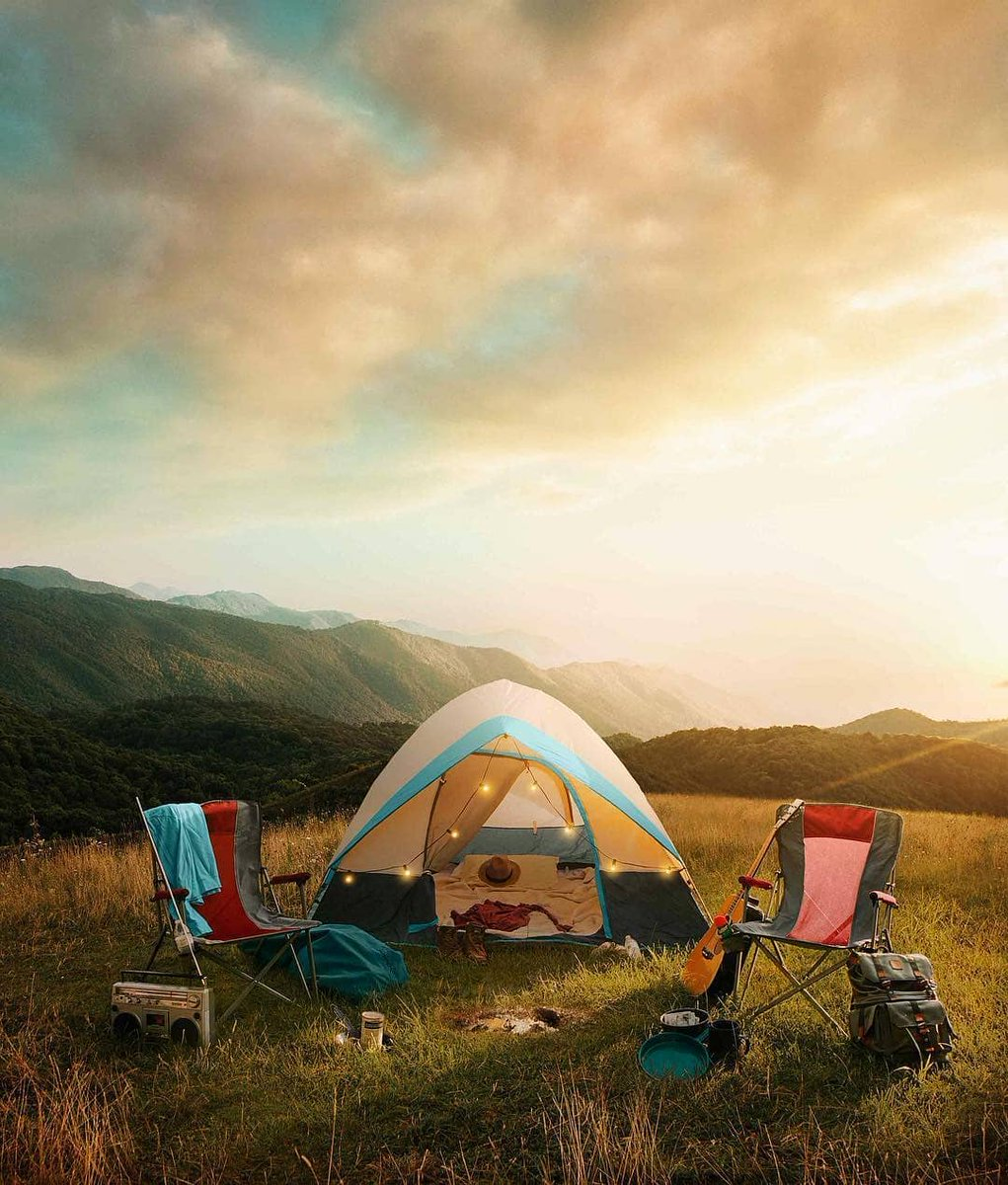 Disconnecting from the world. such a view in a tent, with good company. It can't get any better. 😍 Do you agree with us? 💏matttothemiller . 💥 Follow us @kingcamp  for more beautiful camping contents 👌 . . . . . . . #camping #hiking #adventure  #tent #tentcamping #tents https://t.co/aQQvCgYi0Y