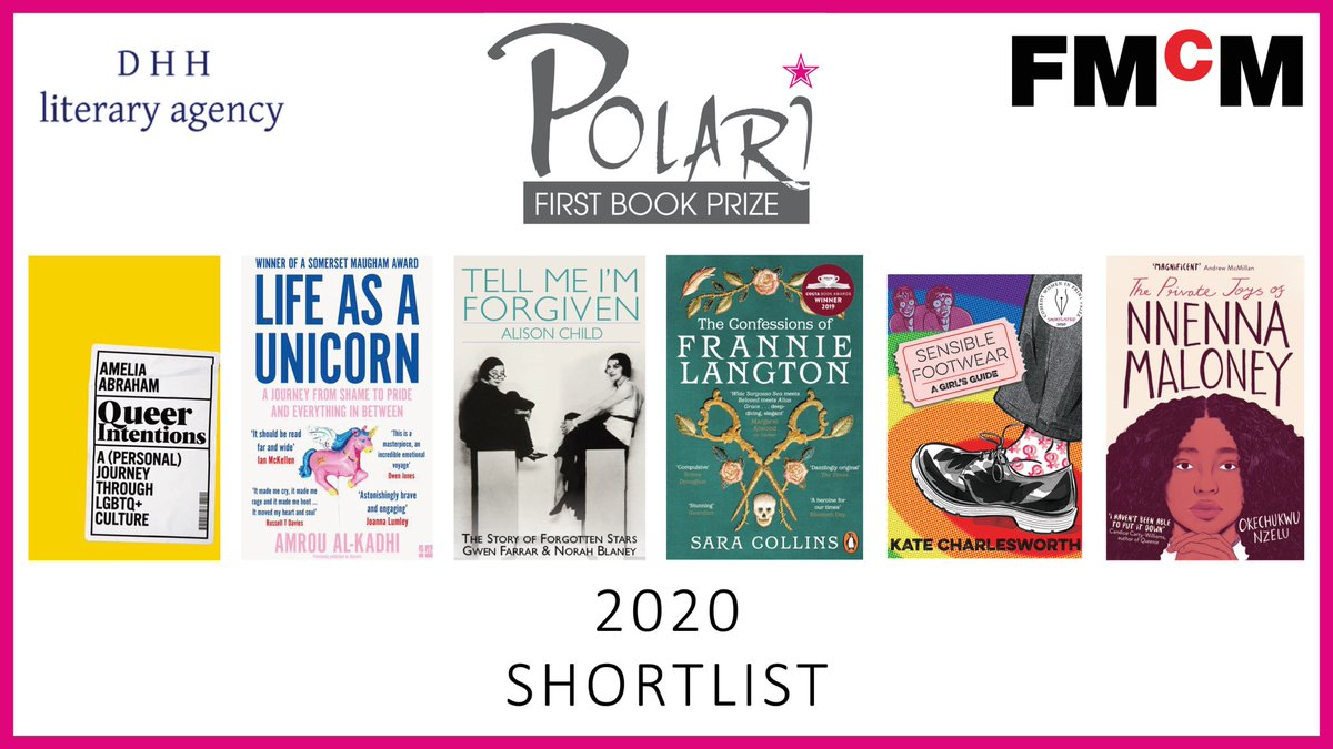 One day until we announce this year's #PolariPrize winners! Tune in at 5pm tomorrow to find out which two books from these two shortlists were chosen by our judges.