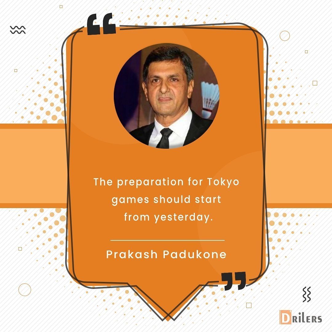 Remembering this legendary quote about preparation and success from one of the sport's great. In the image: Legendary badminton player Prakash Padukone  #morningmotivation #wednesday #wednesdaymotivation #inspirationalwords #morningquotes #sport #badminton #prakashpadukone