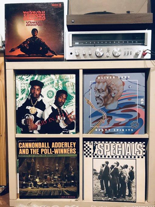 Records spun today (happy birthday Pharoah Sanders edition)