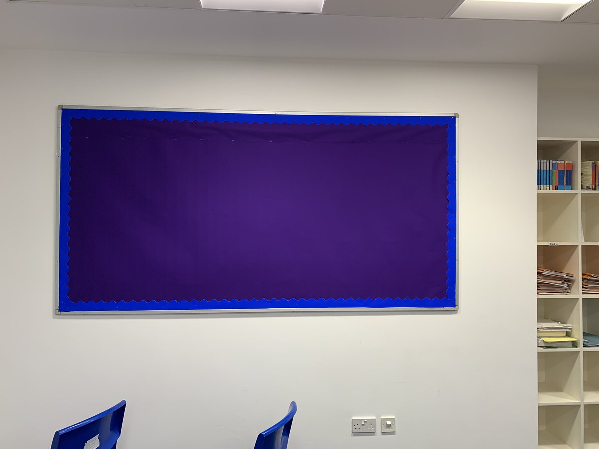 I'm treating my classroom to a new display, any guesses what it will be? #MIEExpert #JSYMEC