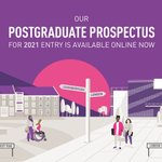Image for the Tweet beginning: Thinking about studying a Postgraduate
