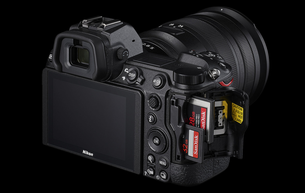 Nikon's Z6 II and Z7 II flagships feature dual card slots and 4K 60p video