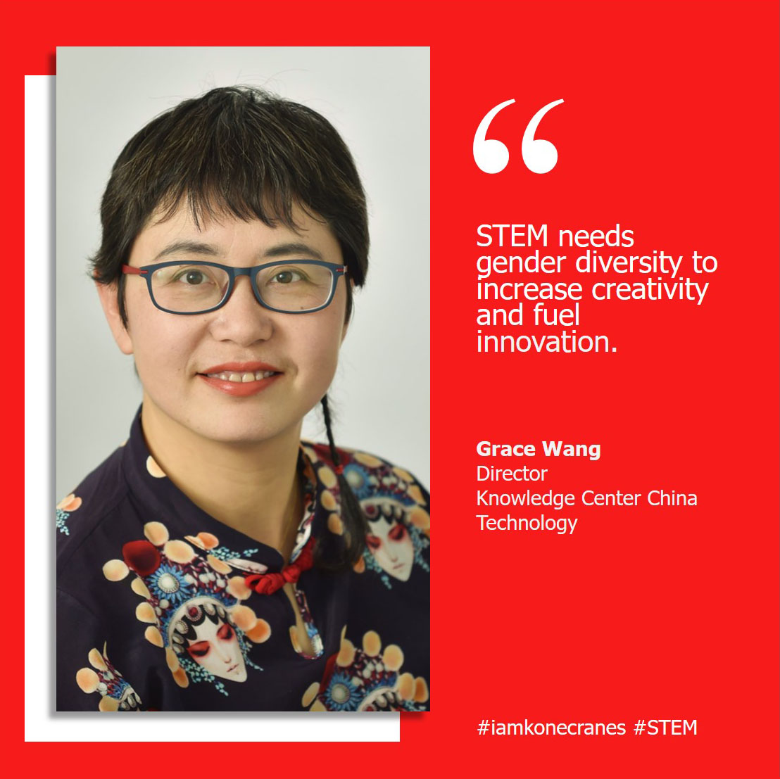 #STEM needs gender diversity to increase creativity and fuel innovation. Equality between women and men at all levels is a cornerstone of the @UN's 2030 agenda, but we all need to do our part. #iamkonecranes #ALD2020 https://t.co/S8J8bYwdSp