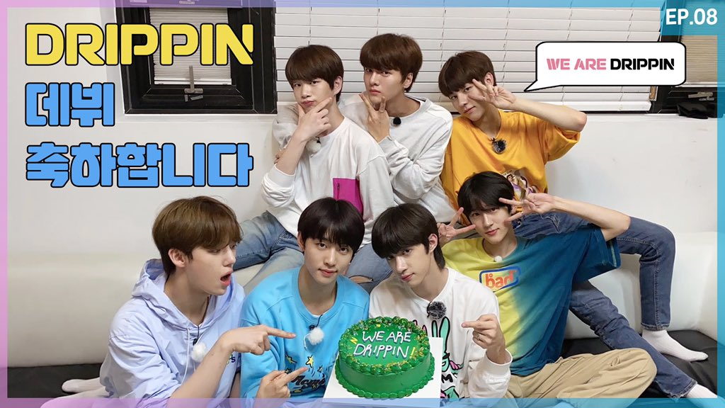 [🎥] WE ARE DRIPPIN! EP.8 We are DRIPPIN! 🎉 ▶ youtu.be/gfDkbnFityk ▶ vlive.tv/video/217828 #DRIPPIN #드리핀 #We_are_DRIPPIN #위아드리핀