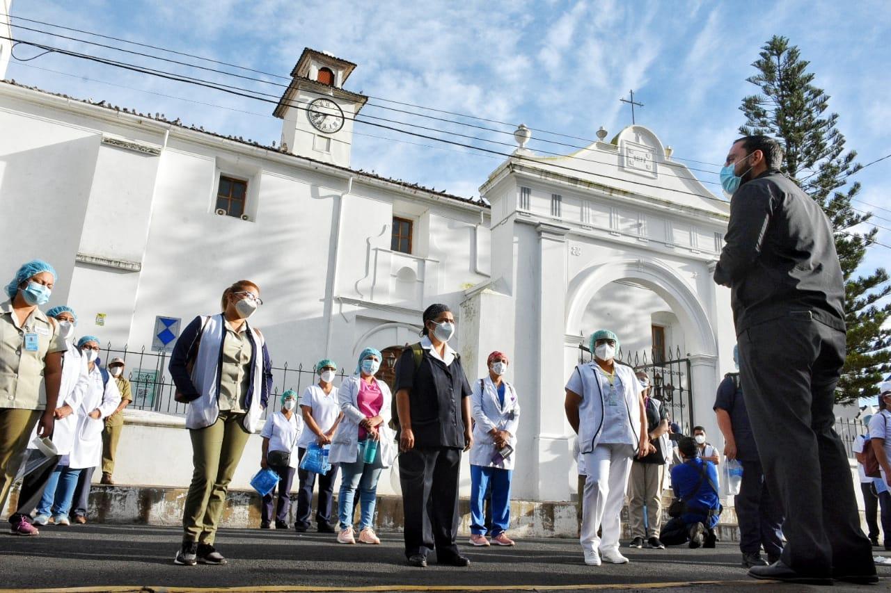 Cerco sanitario en Chalchuapa