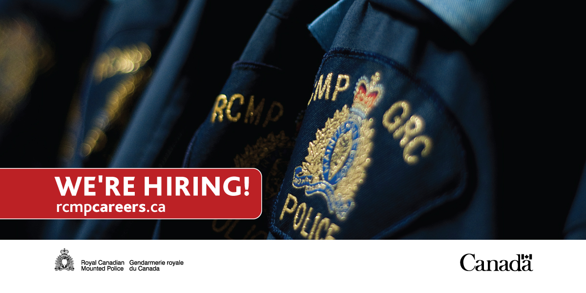 Were hiring! #DYK? All applicants are required to write the RCMP Entrance Exam. Do you have an aptitude for police work and the abilities needed to be successful, both in training and in a future as a police officer? Find out more: rcmp-grc.ca/12428