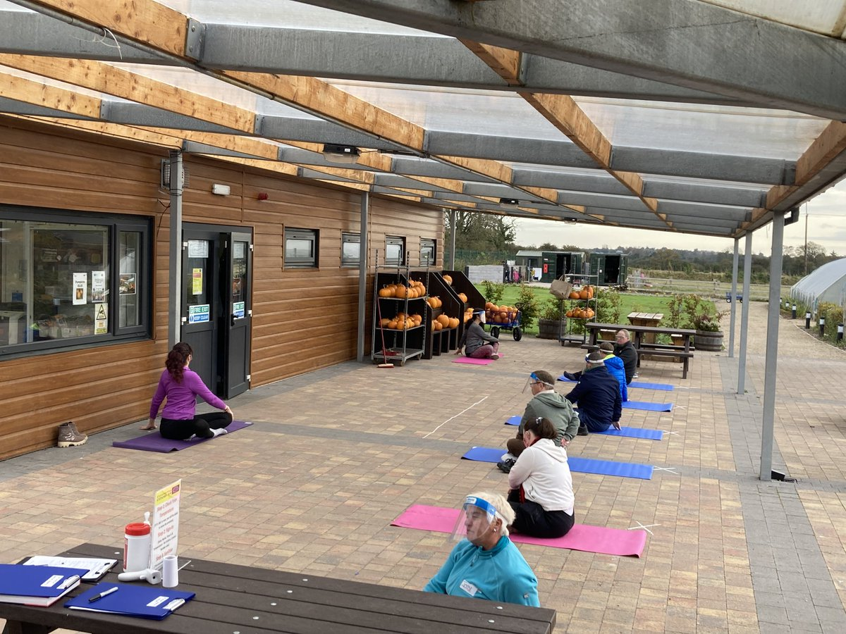 🧘♀️Yoga🧘♂️  Today adults in @DSCork began week 1 of our Yoga with @CorkYoga  in the Fields of Dreams as part of #ActiveCorkOutdoors 🍃🌷🍃  #KeepCorkActive #CorkSportsAbility #FitForAll   @good_2grow | @CaraCentre_ie | @sportireland | @iresport | @DownSyndromeIRL | @SO_Munster | https://t.co/qAUcWI4yIo