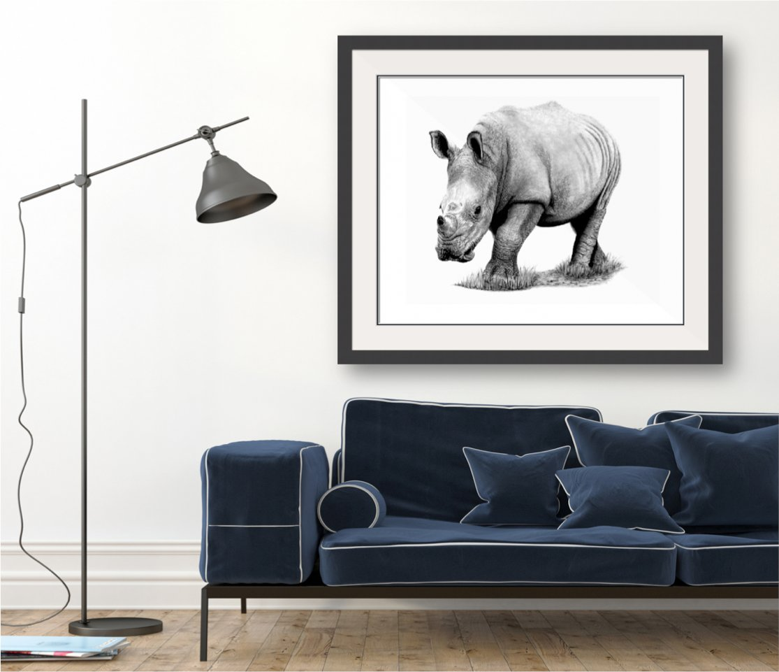 Darren Gough, ex-England cricketer and the main man behind our new Care for Wild wines has just been awarded a MBE. To celebrate, we're offering one lucky customer the chance to WIN a signed Ltd Edition Rhino print from artist @paul_stowe