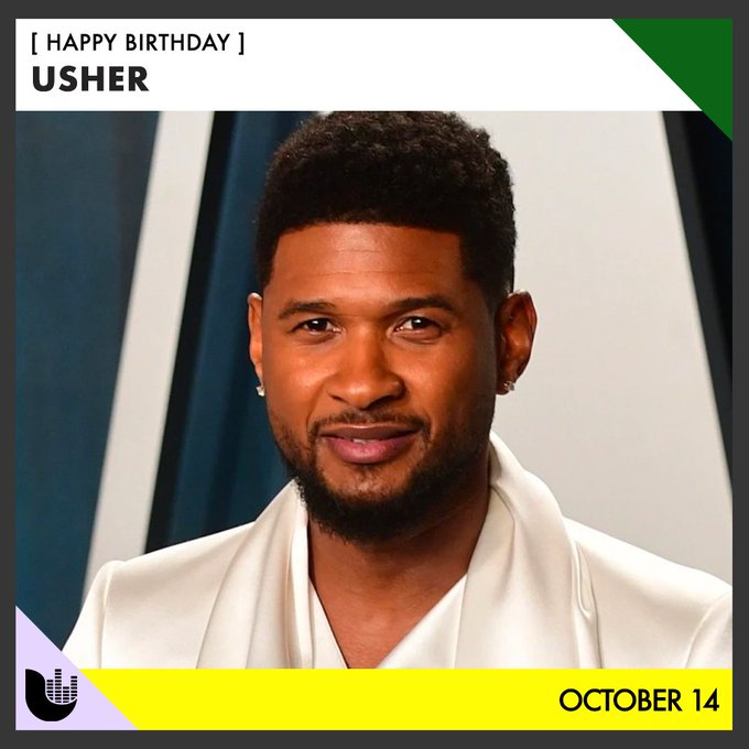 Happy Vibin\ birthday to Usher!