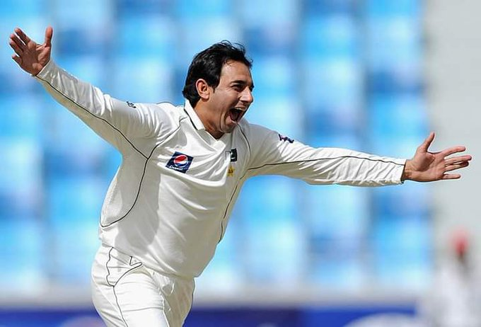 178 wickets in Tests 184 wickets in ODIs 85 wickets in T20Is  Happy Birthday Saeed Ajmal!