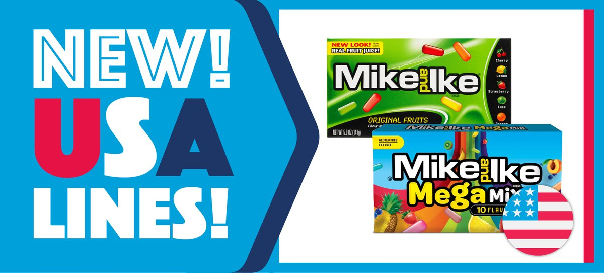 ❗ NEW! MIKE & IKE JUST IN FROM THE USA ❗  Mike & Ike has landed in Hancocks and is expected to fly off the shelves! 😱  These are now available online and in the following stores:   Loughborough Sheffield Bradford Manchester Birmingham Glasgow Cardiff Portsmouth Newcastle https://t.co/4iNZm7sNO6