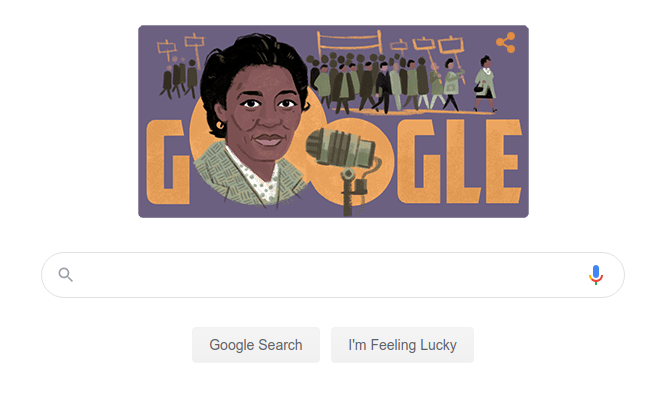 Why is Google celebrating a black nationalist and communist?
