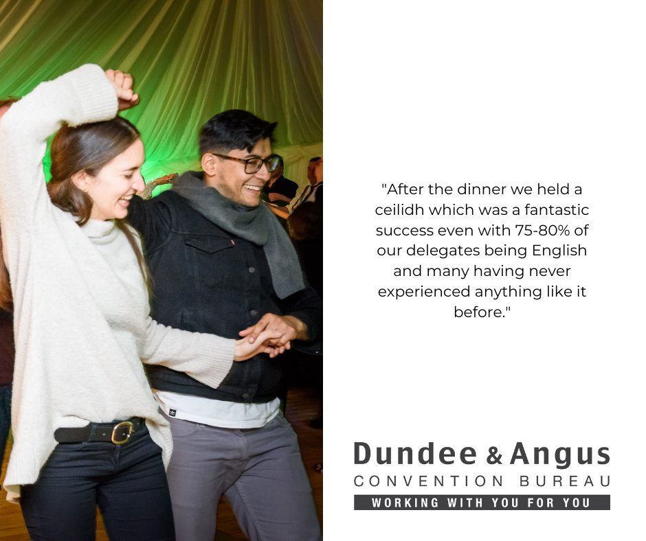 Image for The highlight of many conference programmes is a good Scottish Ceilidh. #businessevents #pathfinders https://t.co/QJcWigwaJQ