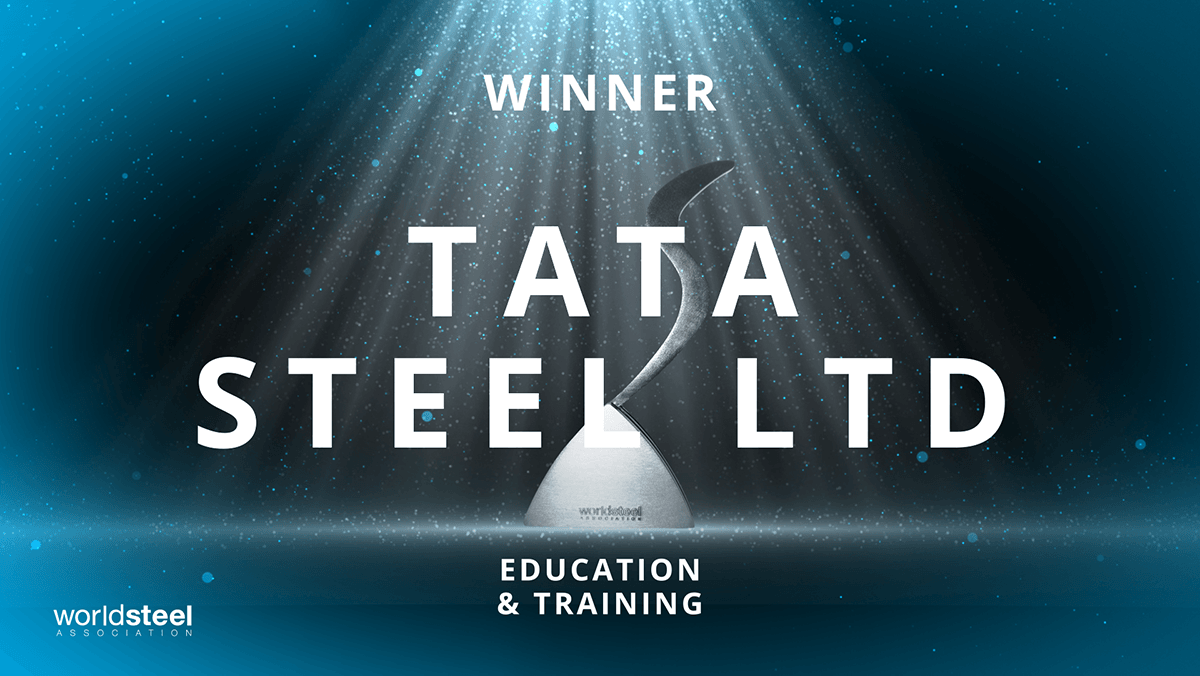 .@TataSteelLtd win the #SteelieAward for Excellence in education and training! An adaptive and customised approach to job application assessment.🎓✅ https://t.co/bmcaLXLDFQ