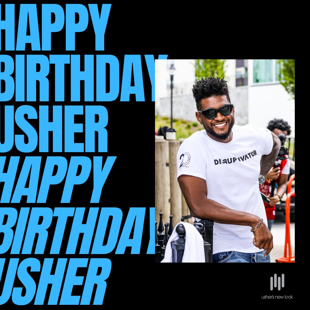 Happy Birthday Usher!  We are thankful for our Founder and celebrate him today on his special day. Usher thank you for all you do for UNL and the world! We 💙you! #ushersnewlook #usher #usherbirthday #celebrateusher  #unlfounder #usherraymondiv #libraseason #celebritybirthdays